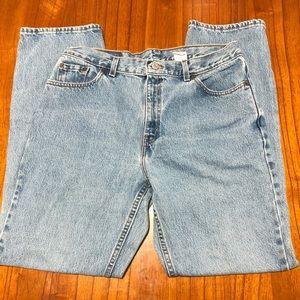 Levi 505 regular fit straight leg jeans